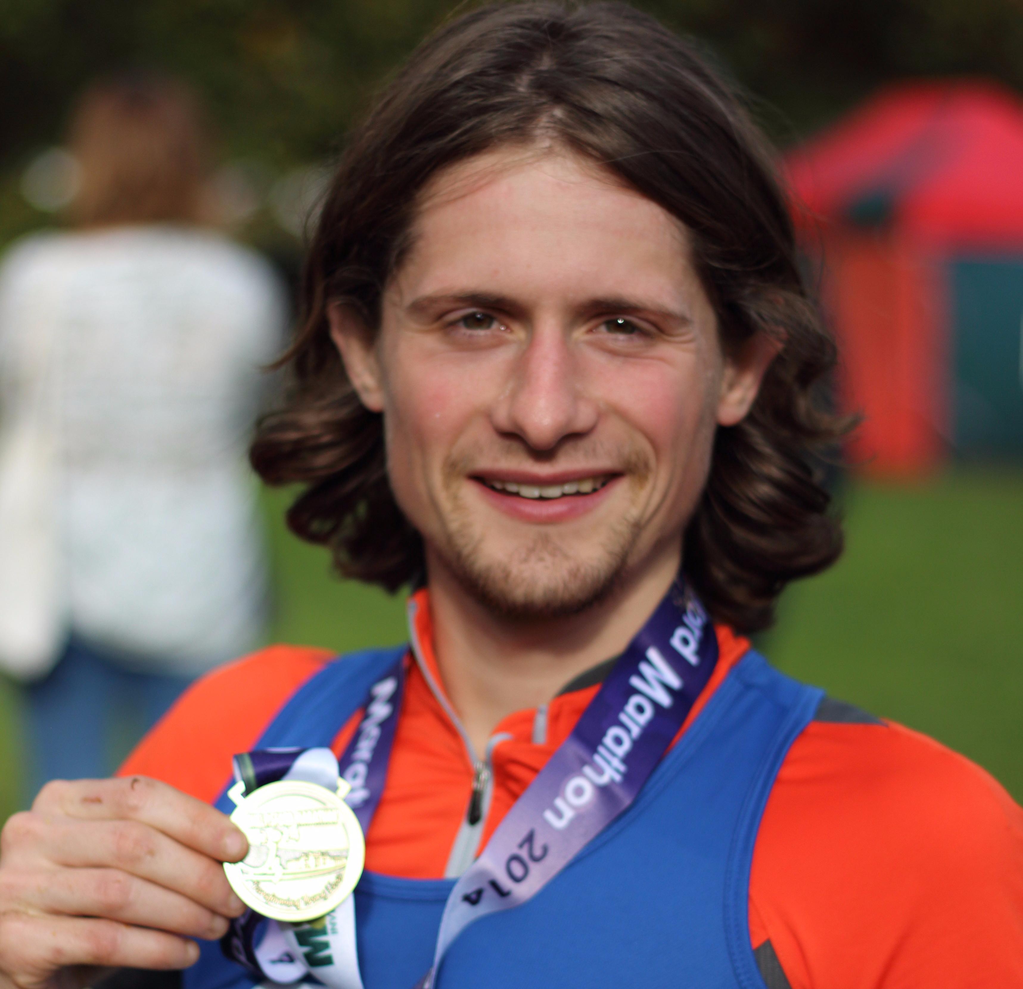 Chelmsford Marathon 2014 medal