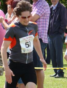 Basildon 5km Finish