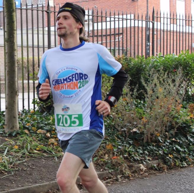Chelmsford Marathon 2016 from front
