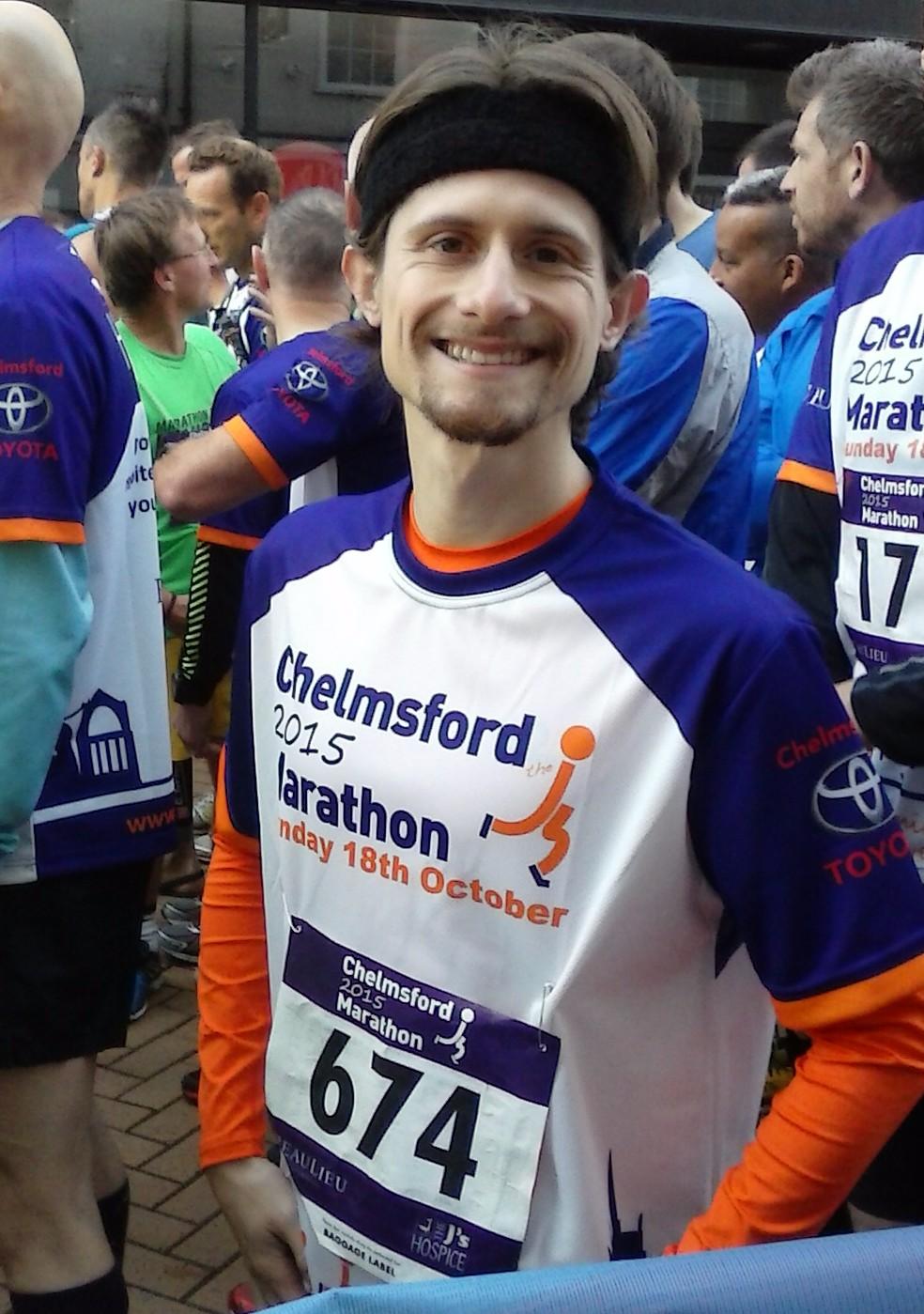 Pre Chelmsford Marathon 2015