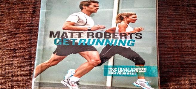 'Get Running' book by Matt Roberts