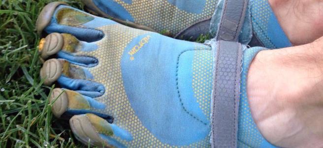 Vibram FiveFingers Bikila (Blue) Barefoot Running Shoes