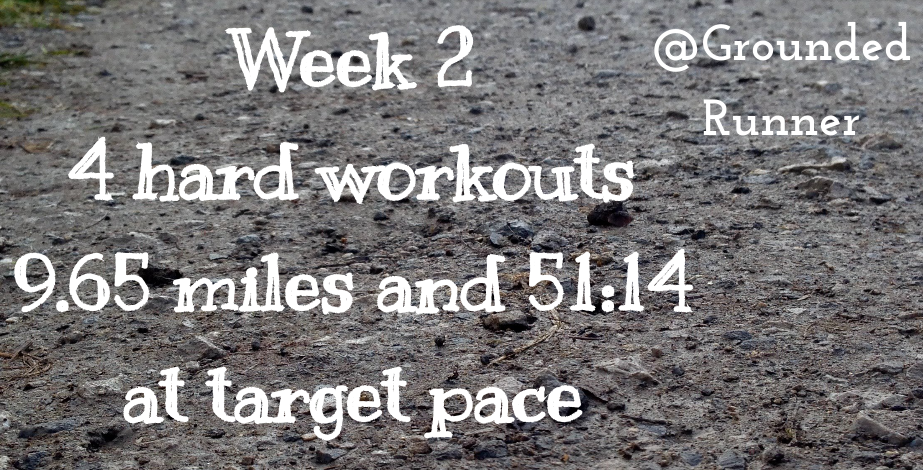 One Mile Challenge: Week 2