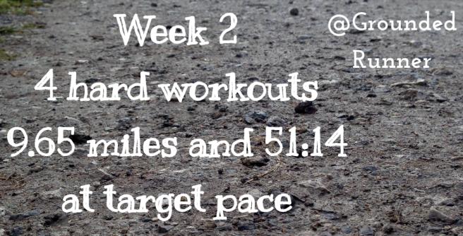 One Mile Challenge: Week 2