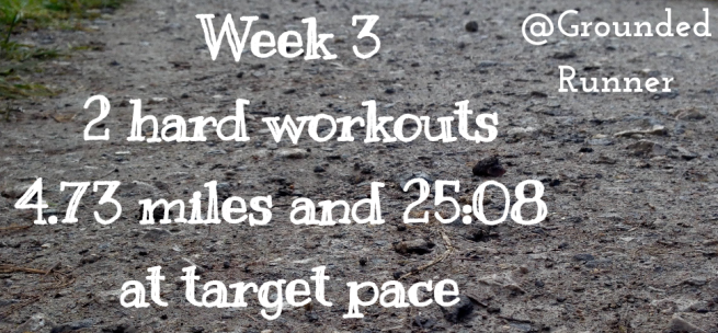 One Mile Challenge: Week 3