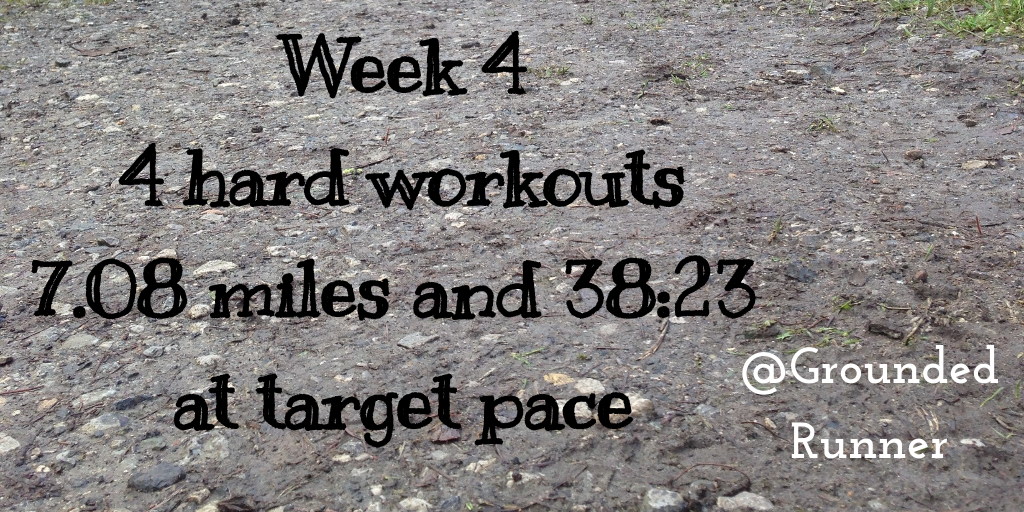 One Mile Challenge: Week 4