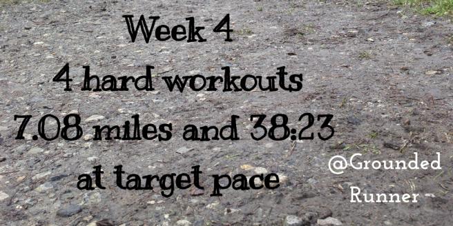 One Mile Challenge: Week 4