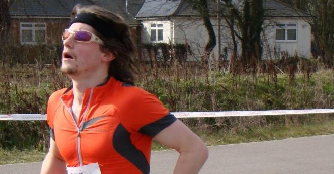 Colchester Half Marathon 2012 Finish
