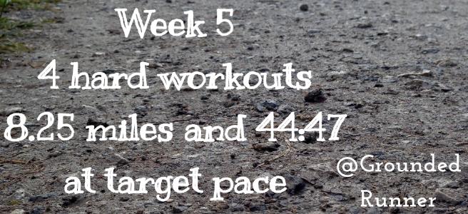One Mile Challenge: Week 5