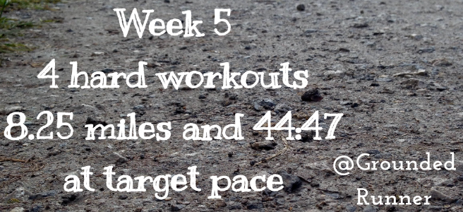 One Mile Challenge: Week 5