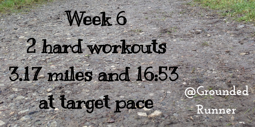One Mile Challenge: Week 6