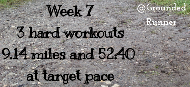 One Mile Challenge: Week 7
