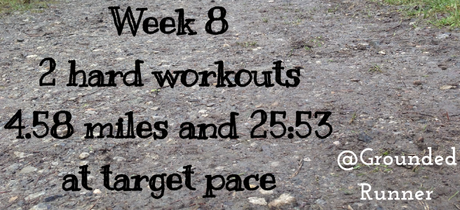 One Mile Challenge: Week 8