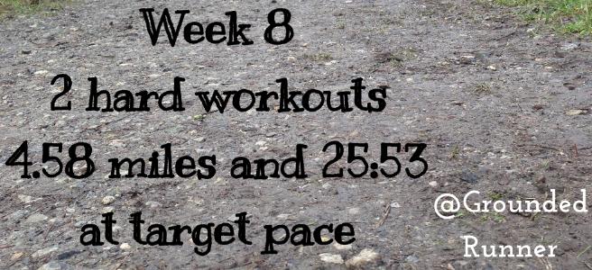 One Mile Challenge: Week 8