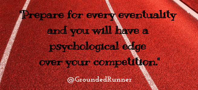 Quote about Coping with Postponed Running Events