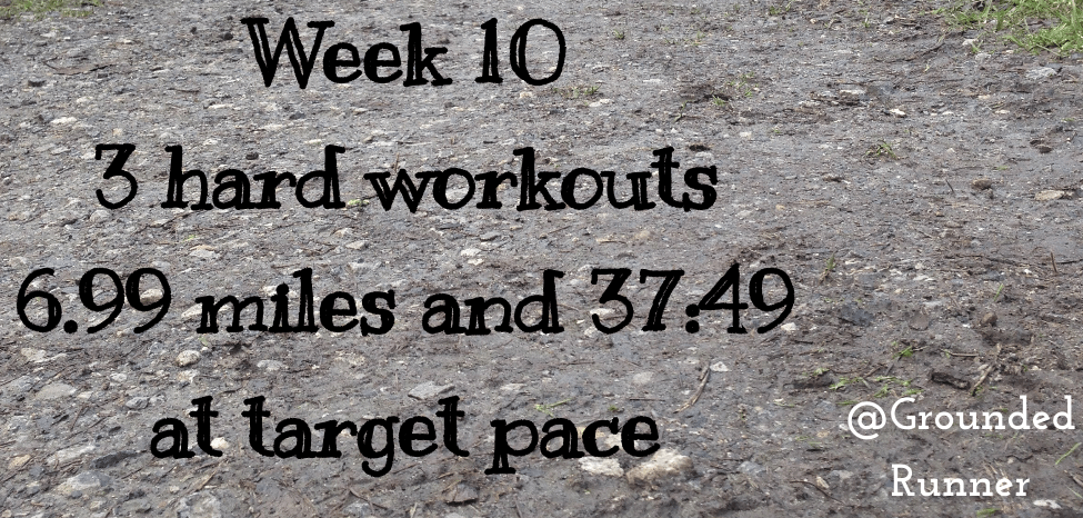 One Mile Challenge: Week 10