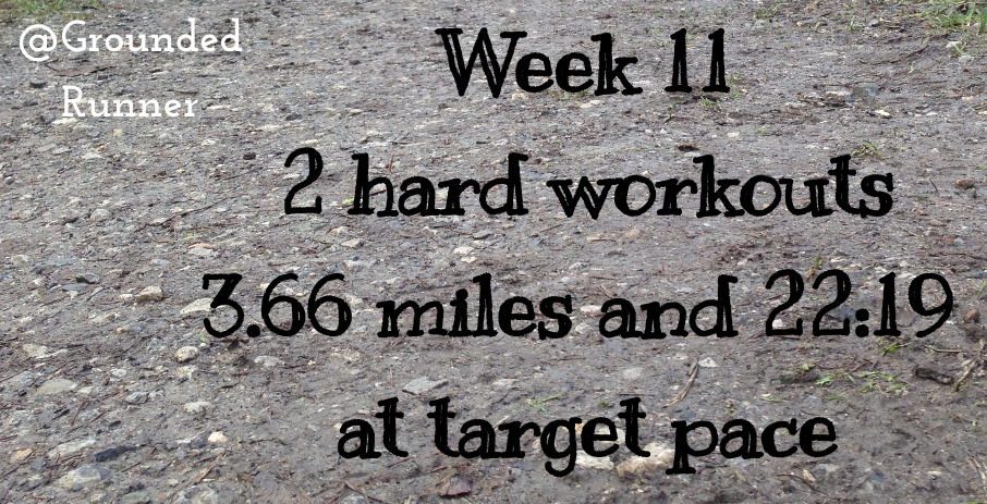 One Mile Challenge: Week 11