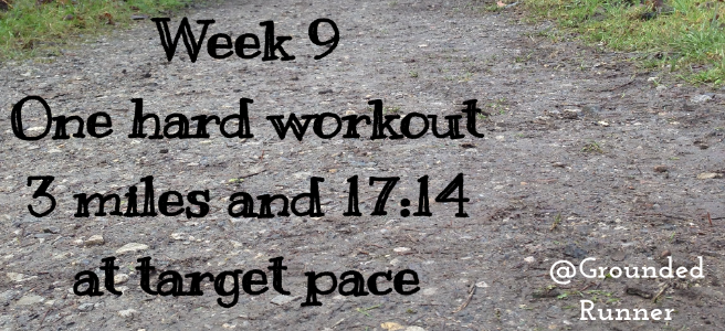 One Mile Challenge: Week 9