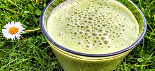 Vegan Lime Protein Smoothie