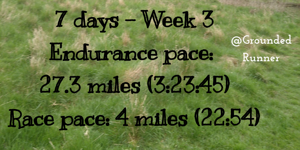 10 Mile Training: Week 3