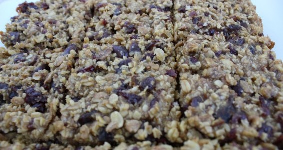 Cranberry and Date Protein Flapjack