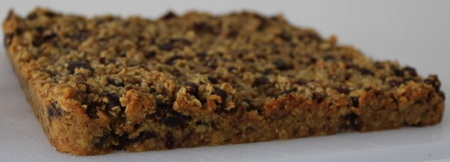 Vegan Homemade Flapjack - Grounded Runner