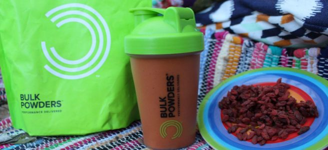 Goji Berry Protein Smoothie