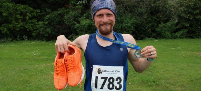 Great Baddow 10 Mile Road Race Medal